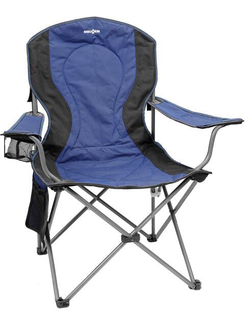 Brunner Comfort Campingstuhl blau/schwarz